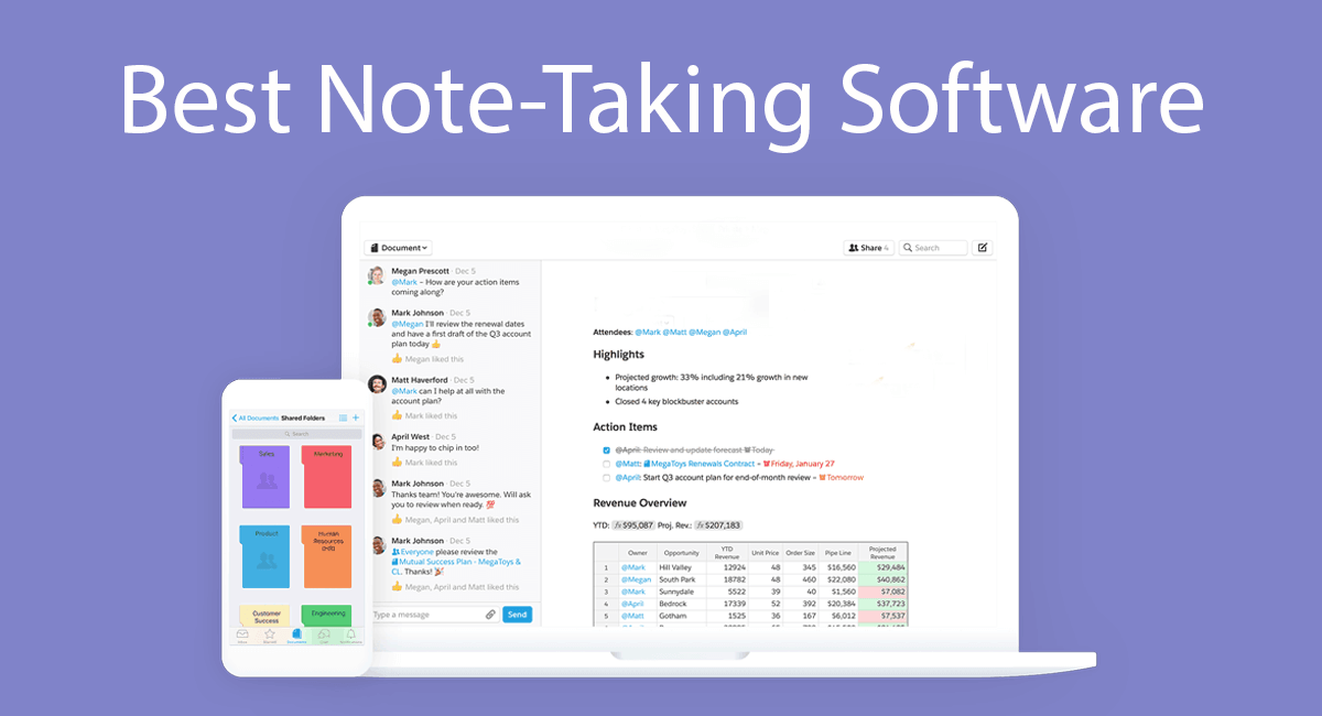 Best Note-Taking Software Thumbnail